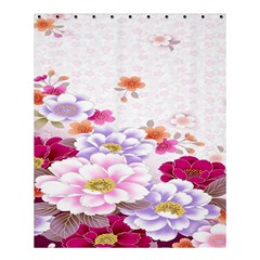 Sweet Flowers Shower Curtain 60  X 72  (medium)  by BangZart