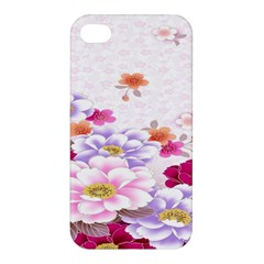 Sweet Flowers Apple Iphone 4/4s Premium Hardshell Case by BangZart