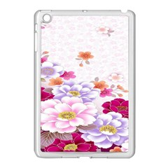 Sweet Flowers Apple Ipad Mini Case (white) by BangZart
