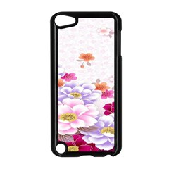 Sweet Flowers Apple Ipod Touch 5 Case (black)