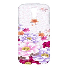 Sweet Flowers Samsung Galaxy S4 I9500/i9505 Hardshell Case by BangZart