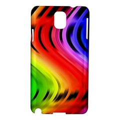 Colorful Vertical Lines Samsung Galaxy Note 3 N9005 Hardshell Case by BangZart