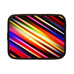 Funky Color Lines Netbook Case (small)  by BangZart