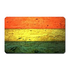 Five Wall Colour Magnet (rectangular) by BangZart