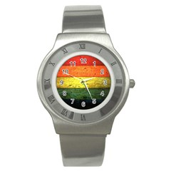 Five Wall Colour Stainless Steel Watch by BangZart