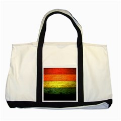 Five Wall Colour Two Tone Tote Bag by BangZart