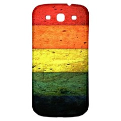 Five Wall Colour Samsung Galaxy S3 S Iii Classic Hardshell Back Case by BangZart