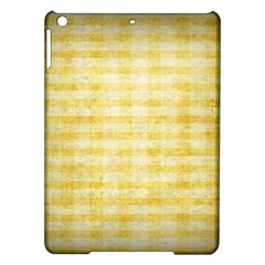 Spring Yellow Gingham Ipad Air Hardshell Cases