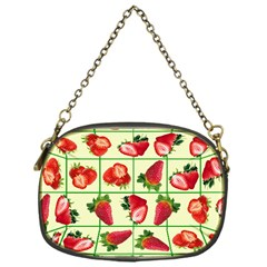Strawberries Pattern Chain Purses (one Side)  by SuperPatterns