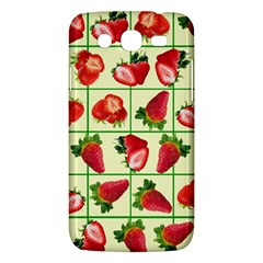 Strawberries Pattern Samsung Galaxy Mega 5 8 I9152 Hardshell Case  by SuperPatterns