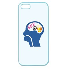Male Psyche Apple Seamless Iphone 5 Case (color) by linceazul