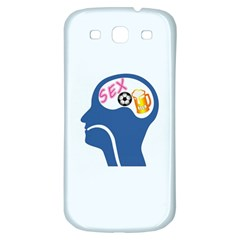 Male Psyche Samsung Galaxy S3 S Iii Classic Hardshell Back Case by linceazul