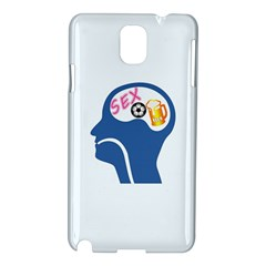 Male Psyche Samsung Galaxy Note 3 N9005 Hardshell Case by linceazul