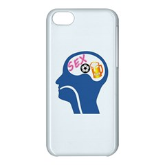 Male Psyche Apple Iphone 5c Hardshell Case by linceazul