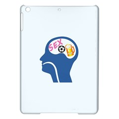 Male Psyche Ipad Air Hardshell Cases by linceazul