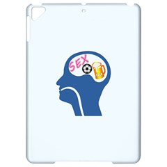 Male Psyche Apple Ipad Pro 9 7   Hardshell Case by linceazul
