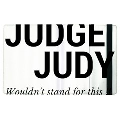 Judge Judy Wouldn t Stand For This! Apple Ipad Pro 9 7   Flip Case