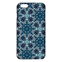 Boho Blue Fancy Tile Pattern Iphone 6 Plus/6s Plus Tpu Case by KirstenStar