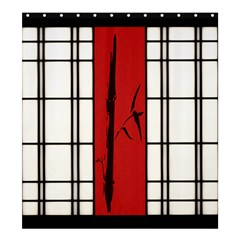 Shoji   Bamboo Shower Curtain 66  X 72  (large)  by RespawnLARPer