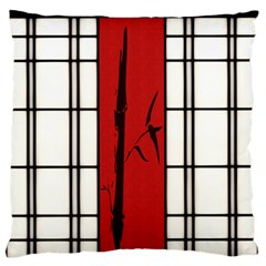 Shoji   Bamboo Large Flano Cushion Case (two Sides) by RespawnLARPer