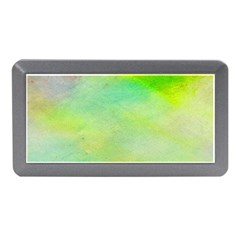 Abstract Yellow Green Oil Memory Card Reader (mini) by BangZart