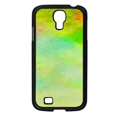Abstract Yellow Green Oil Samsung Galaxy S4 I9500/ I9505 Case (black) by BangZart