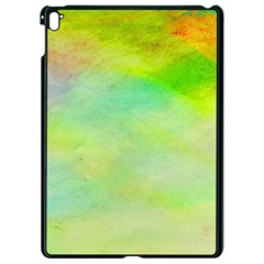 Abstract Yellow Green Oil Apple Ipad Pro 9 7   Black Seamless Case