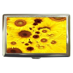 Beautiful Sunflowers Cigarette Money Cases by BangZart