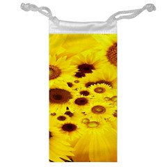 Beautiful Sunflowers Jewelry Bag