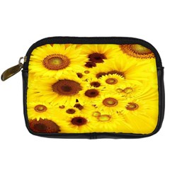 Beautiful Sunflowers Digital Camera Cases by BangZart