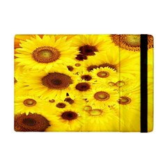 Beautiful Sunflowers Ipad Mini 2 Flip Cases by BangZart
