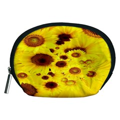 Beautiful Sunflowers Accessory Pouches (medium)  by BangZart