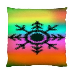 Vector Snowflake Standard Cushion Case (one Side) by BangZart