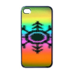 Vector Snowflake Apple Iphone 4 Case (black) by BangZart