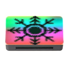 Vector Snowflake Memory Card Reader With Cf by BangZart