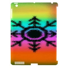 Vector Snowflake Apple Ipad 3/4 Hardshell Case (compatible With Smart Cover) by BangZart