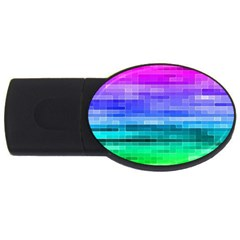 Pretty Color Usb Flash Drive Oval (2 Gb) by BangZart
