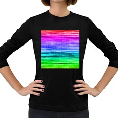 Pretty Color Women s Long Sleeve Dark T Shirts