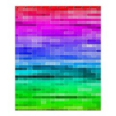 Pretty Color Shower Curtain 60  X 72  (medium)  by BangZart