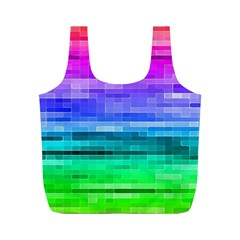 Pretty Color Full Print Recycle Bags (m)  by BangZart