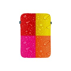Color Abstract Drops Apple Ipad Mini Protective Soft Cases by BangZart