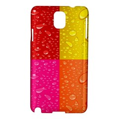 Color Abstract Drops Samsung Galaxy Note 3 N9005 Hardshell Case by BangZart
