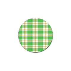 Abstract Green Plaid Golf Ball Marker (10 Pack) by BangZart