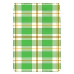 Abstract Green Plaid Flap Covers (l)  by BangZart