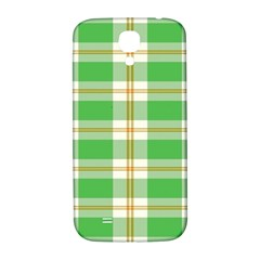 Abstract Green Plaid Samsung Galaxy S4 I9500/i9505  Hardshell Back Case by BangZart