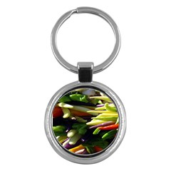 Bright Peppers Key Chains (round)  by BangZart