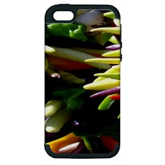 Bright Peppers Apple Iphone 5 Hardshell Case (pc+silicone) by BangZart