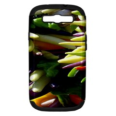 Bright Peppers Samsung Galaxy S Iii Hardshell Case (pc+silicone) by BangZart