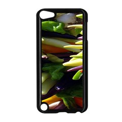 Bright Peppers Apple Ipod Touch 5 Case (black) by BangZart