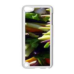 Bright Peppers Apple Ipod Touch 5 Case (white) by BangZart